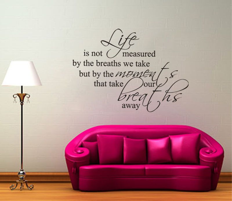 Free-Shipping-WALL-STICKER-S-2013-New-Life-is-not-measured-Home-Wall-Decal-Quote-Vinyl